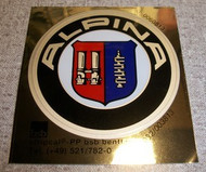 BMW Alpina 51mm or 59mm Sticker