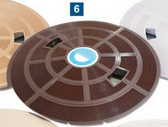 Quiptron Deck Lid SK950 Brown