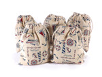 Cotton Bag - Nautical (5 Pk)