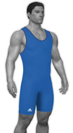 Royal - Adidas aS101s Lycra Stock Singlet