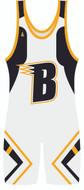 "Custom Sublimated Singlet ""The Brigade"" by WarriorSport Team Wear"