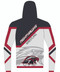 WarriorSport Fully Sublimated T Hoodie:  WS1521 back view