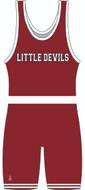 Little Devils Team Singlet Front View