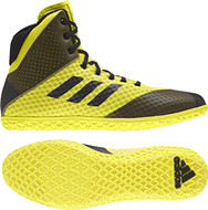 89f7ed3ec571 Adidas Mat Wizard Youth Shoes  Yellow Black AH2135
