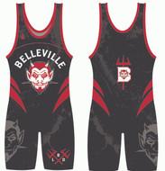 Belleville Little Devils Black Singlet