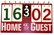 Cliff Keen IM100 Flip A Score 3 Panel Scoreboard - IM100