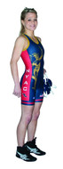 Sublimated Cliff Keen SW79CK43 Women's Custom Sublimated Singlet