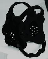 Black - Solid Color Cliff Keen #F5 Tornado Headgear