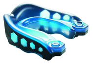 Black/Blue Shock Doctor Mouthguard Gel Max Strapless #6100