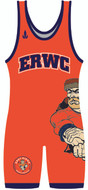 WarriorSport Custom Sublimated Singlet  Wrap designed for ERWC