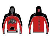 Custom Sublimated Hoodie WarriorSport #1202