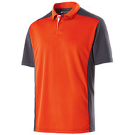 Orange/Carbon - Holloway Division Polo #222486