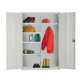 Extra Wide Clothing & Equipment Cupboard 1830 x 1220 x 457mm (724818CE)