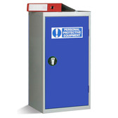 Small Single Door Personal Protective Equipment Cabinet 1000x457x457mm