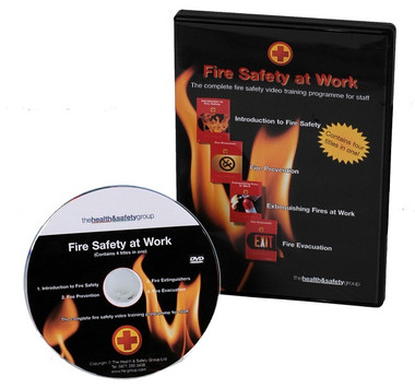 Fire Safety DVD - 4 Titles in 1