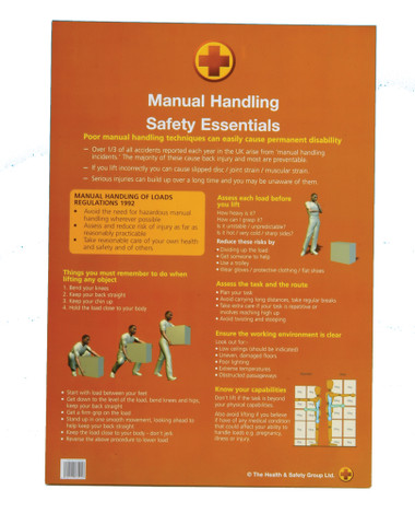 Manual Handling Safety Essentials Booklet