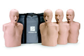 4 Prestan Professional Training Manikin Adult with CPR Monitor inc 50 Lung Bags