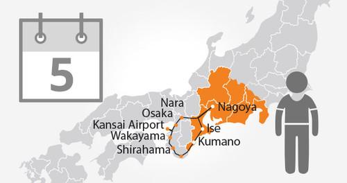 Ise-Kumano Area Tourist Pass - 5 Days - Child