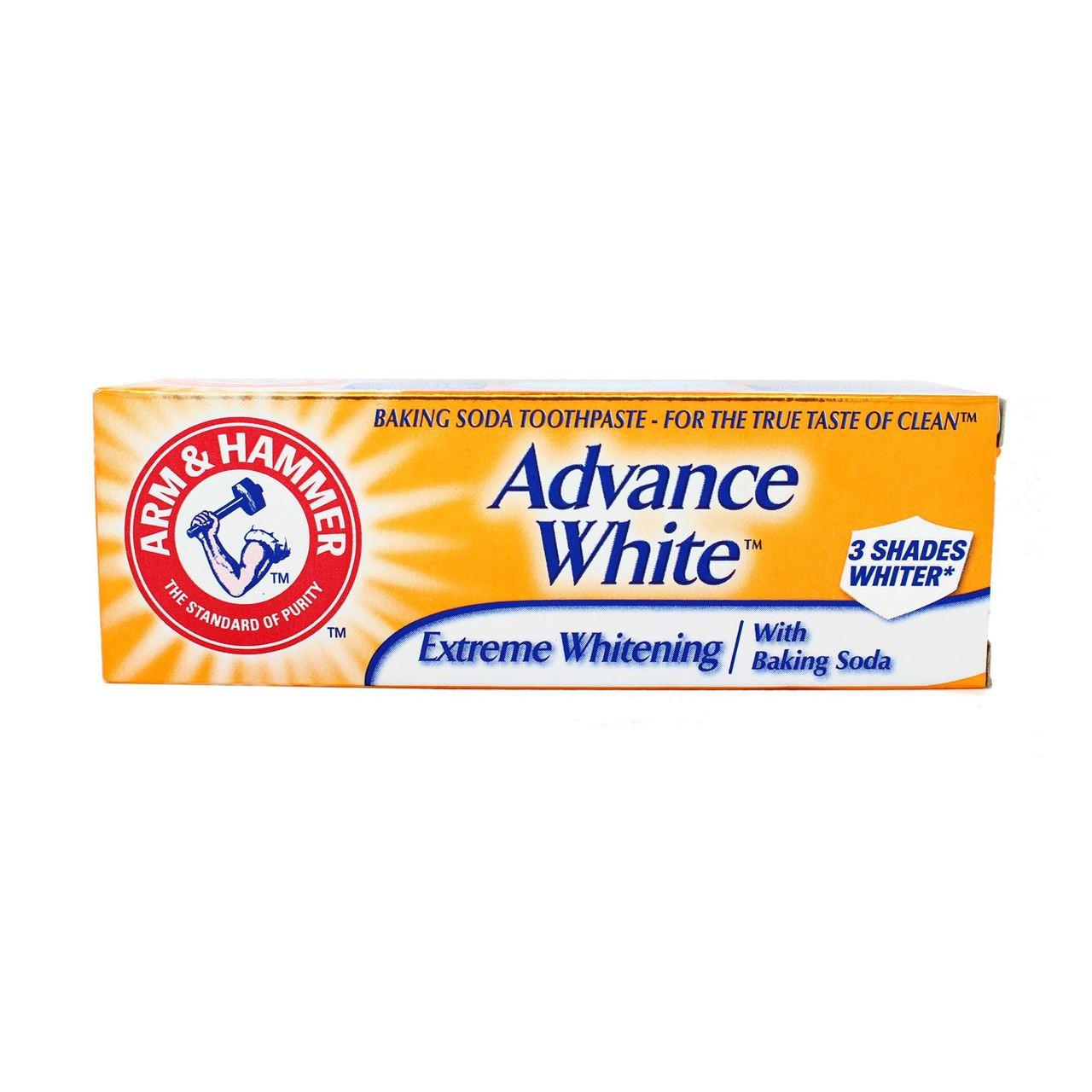 Arm Amp Hammer Advance White Mini Toothpaste 25ml Go Tiny