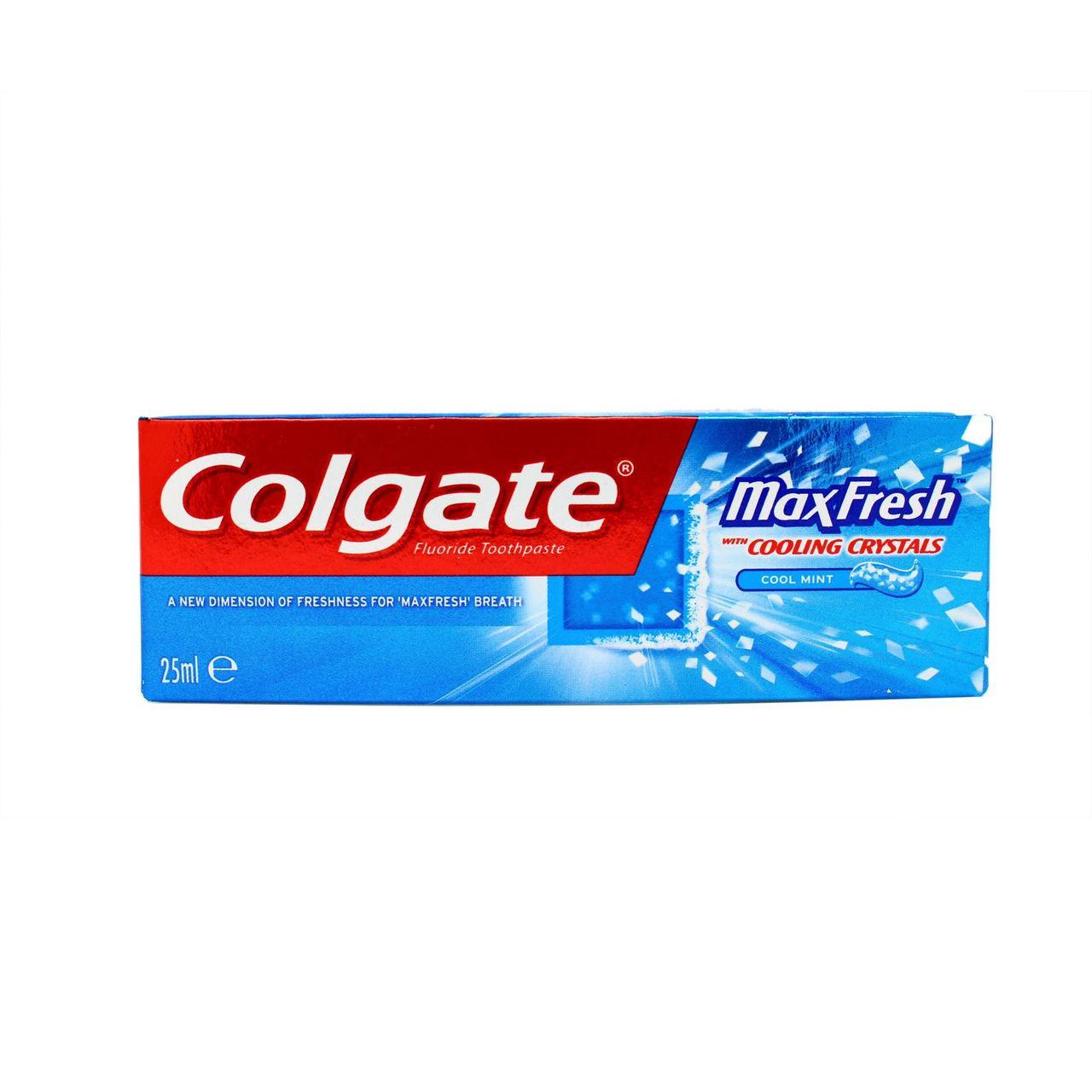 Colgate Max Fresh Mini Toothpaste 25ml Go Tiny