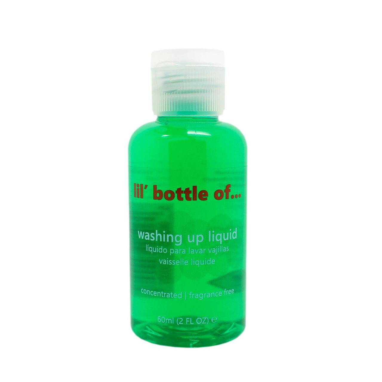 Lil Bottle Of Washing Up Liquid 60ml Mini Travel