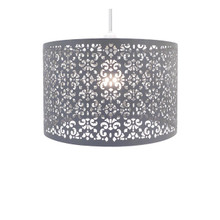 Pack of 2 Chandelier Chic Ceiling Light Pendant Shade Crystal Droplet Fitting Easy Fit