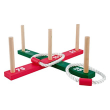 Family Party In/Outdoor Summer BBQ New Garden Fun Small & Giant (Garden Quoits)