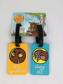 Gruffalo Luggage Tag 2PC Set