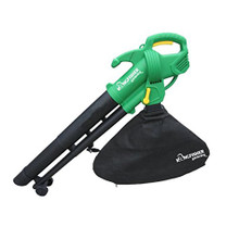 GARDEN BLOWER VAC Ideal for maintaining the perfect garden. 2 Operating modes : vacuum and blower Includes debris collection bag  Robust shoulder harness Lightweight and robust Wheel aided steering 2600 W powerful