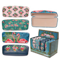 Puckator Flamingo Glasses Case - Assorted designs