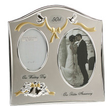 Wedding Anniversary Frames -Gold