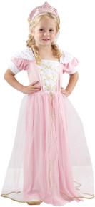 Pink Girls Princess Fancy Dress Costume Age 2-3