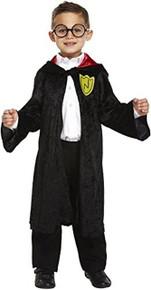 FANCY DRESS CHILD WIZARD BOY LARGE 10-12 YRS