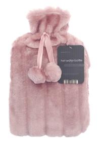 Hot Water Bottles- Furry- PINK