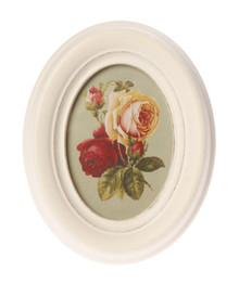 Antique Oval Photo Frame