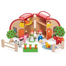 Wooden Farm Playset