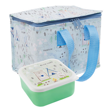 Sass & Belle Bear Camp Lunch Box and Lunch Bag