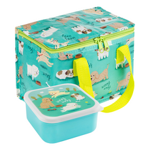 Sass & Belle Puppy Dog Playtime Lunch Box and Lunch Bag