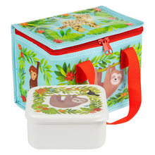 Sass & Belle Sloth And Friends Lunch Box and Lunch Bag