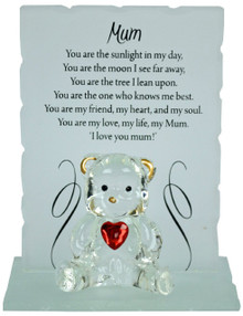 Presentation box size is 95 x 100mm • Each bear size is 80 x 95mm • Perfect gift for a loved one • All our hand made poetic bears comes in a exquisite presentation box..