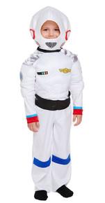 Space Boy Toddler 2-3 Years Fancy Dress Astronaut NASA Kids Children's Costume