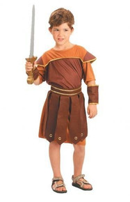 Childs Roman Soldier Fancy Dress Costume 6-8 Years