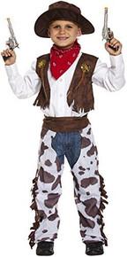 Child Cowboy Fancy Dress Medium 7-9 Years