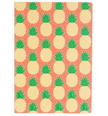 Tropical Summer Pineapple A5 Notebook