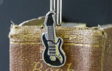 Guitar Bookmark Keepsake Gift Music Present for Dad