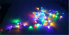 200 Multi Coloured Indoor Outdoor Xmas Decoration Static LED Christmas Lights