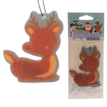 Deer Shaped Winter Forest Scented Christmas Air Freshener