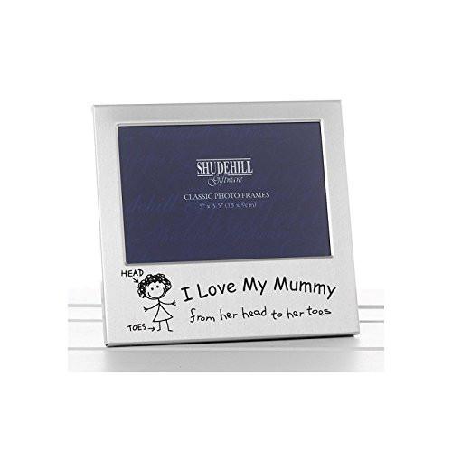 I Love My Mummy Photo Frame Christmas Birthday Mothers Day Gift