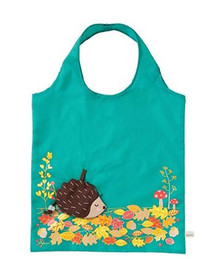 Sass & Belle Fold Away Bag - Hedgehog