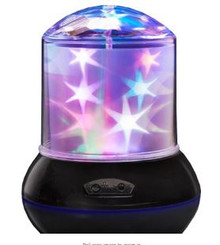 Lumo Colourful Twinkling Stars Lamp Projector Room Ceiling Decoration 14.5cm